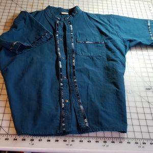 Other - EUC Fabulous Teal Shirt